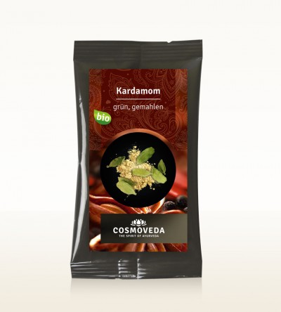 Organic Cardamom green ground 10g