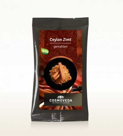 Organic Cinnamon Ceylon ground 10g