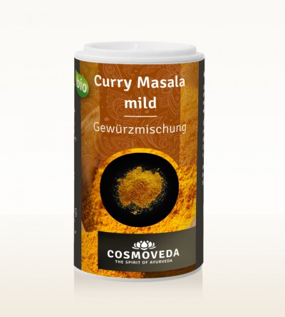 Organic Curry Masala mild 25g
