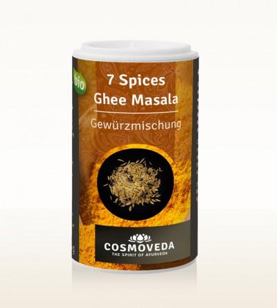 Organic 7 Spices Ghee Masala 25g