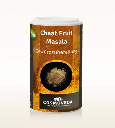 Organic Chaat Fruit Masala 25g