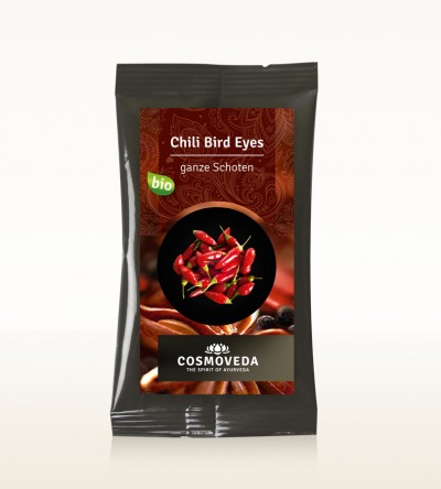 BIO Chili Bird Eyes Schoten 7,5g