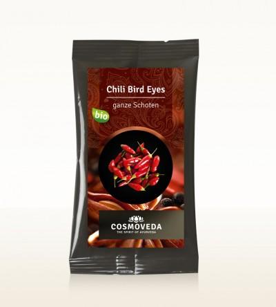 Organic Chili Bird Eyes pods 7,5g