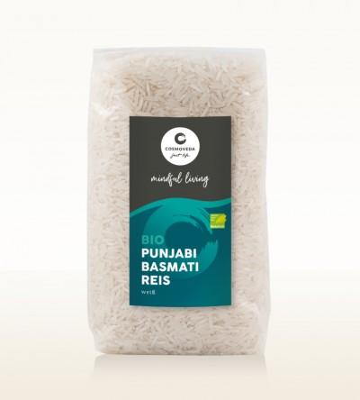 Organic Punjabi Basmati Rice white 500g