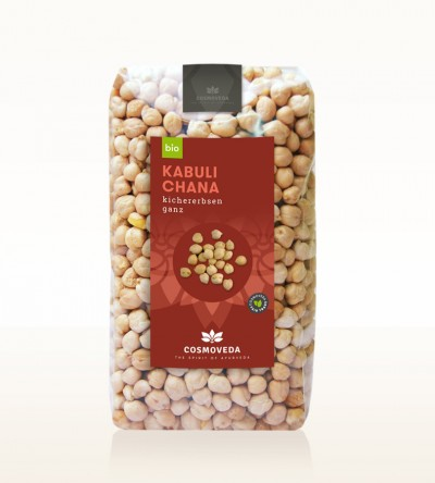 Organic Kabuli Chana - chickpea, whole 500g