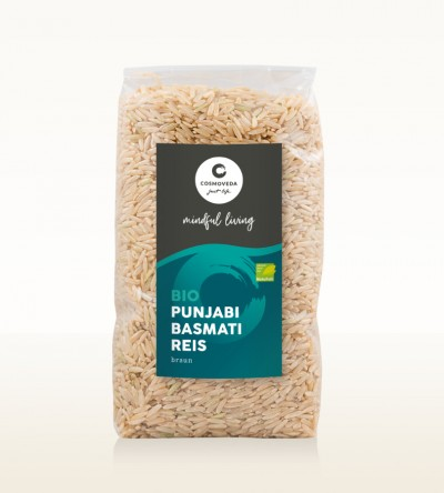 Organic Punjabi Basmati Rice brown 500g