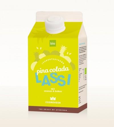 Organic Pina Colada Lassi 500ml
