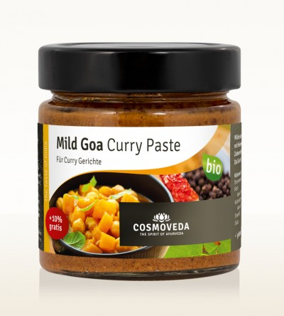 Organic Mild Goa Curry Paste 175g