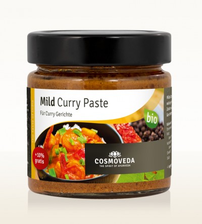 Organic Mild Curry Paste 175g