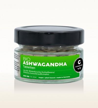 Organic Ashwagandha Tablets 60g