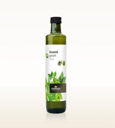 Organic Sesame Oil ripened 500ml