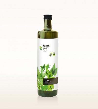 Organic Sesame Oil ripened 1 Liter