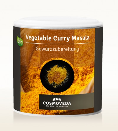 Organic Vegetable Curry Masala 80g