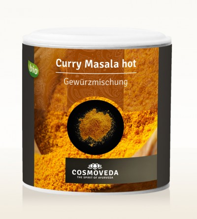 Organic Curry Masala hot 80g