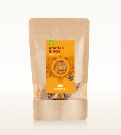 Organic Pineapple Rings 50g