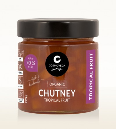 Organic Tropical Fruit Chutney 225g
