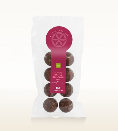 Organic Coconut Dates Balls 90g