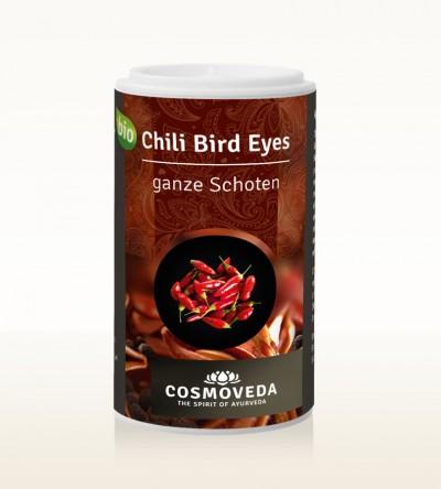 Organic Chili Bird Eyes pods 10g