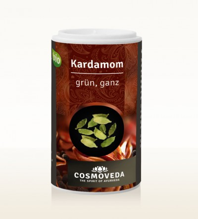 Organic Cardamom green whole 20g