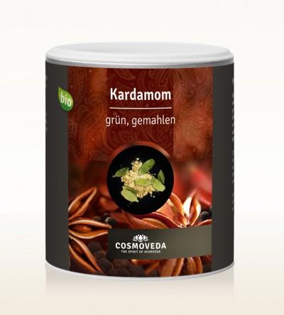 Organic Cardamom green ground 250g