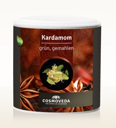 Organic Cardamom green ground 70g