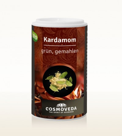 Organic Cardamom green ground 22g