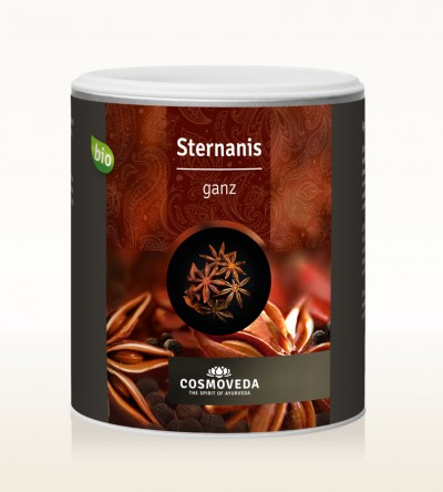 Organic Star anise whole 175g