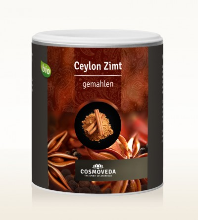 Organic Cinnamon Ceylon ground 250g