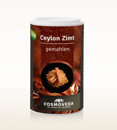 Organic Cinnamon Ceylon ground 25g