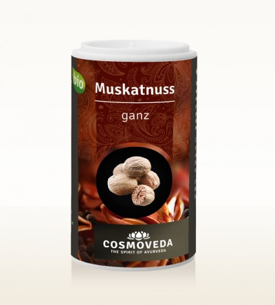 Organic Nutmeg whole 5 pcs approx. 28g
