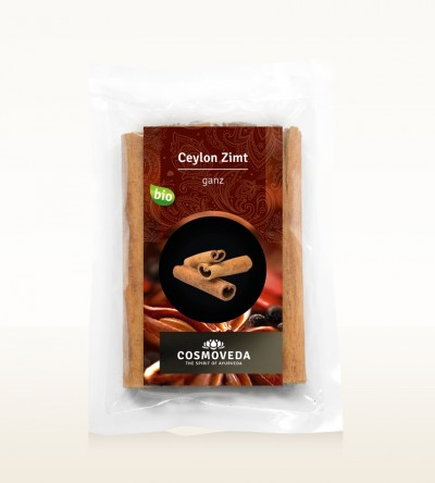 Organic Cinnamon Ceylon sticks 5 pcs