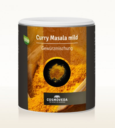 Organic Curry Masala mild 250g