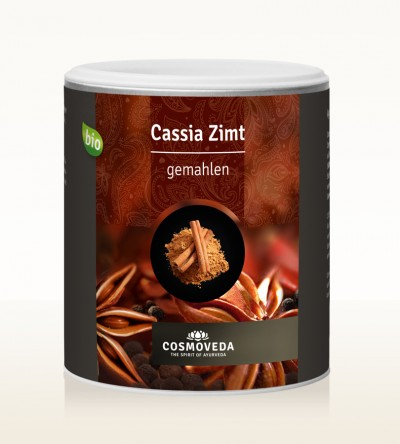 Organic Cinnamon Cassia ground 320g