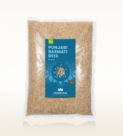 Organic Punjabi Basmati Rice brown 2,5kg