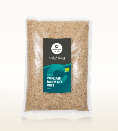 Organic Punjabi Basmati Rice brown 10kg