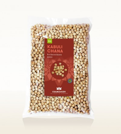 Organic Kabuli Chana - chickpea, whole 2,5kg