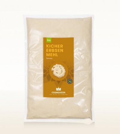 Organic Besan chickpea flour 2,5kg