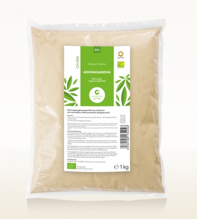 Organic Ashwagandha Churna 1kg