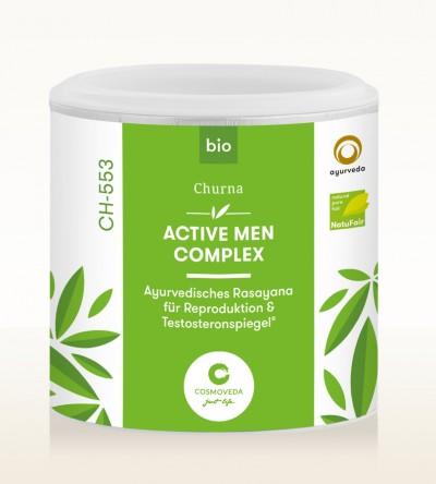 Organic Ayus Rasayana Churna - Active Men Complex 100g