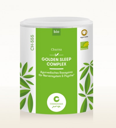 Organic Ayus Rasayana Churna - Golden Sleep Complex 100g