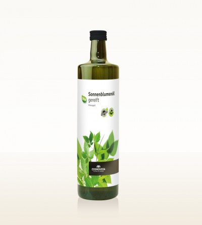 Organic Sunflower Oil 1 Liter