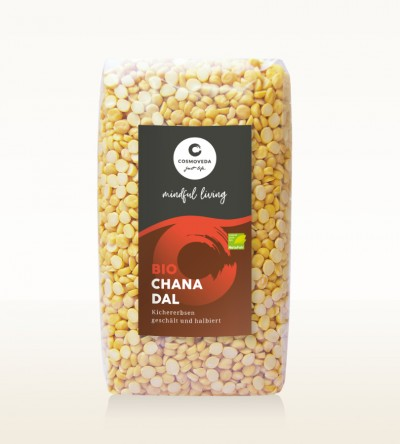 Organic Chana Dal - chickpeas, peeled and split 500g