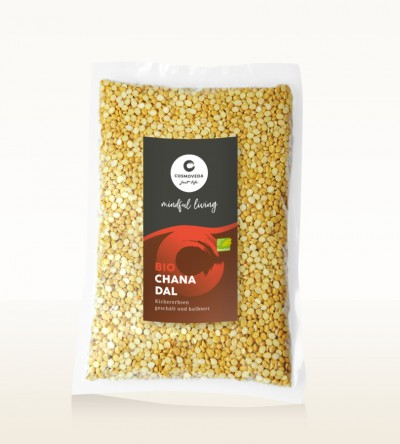 Organic Chana Dal - chickpeas, peeled and split 1kg