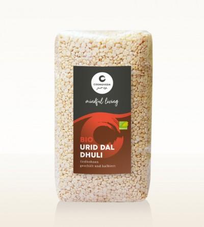 Organic Urid Dal Dhuli - white lentils, peeled and split 500g