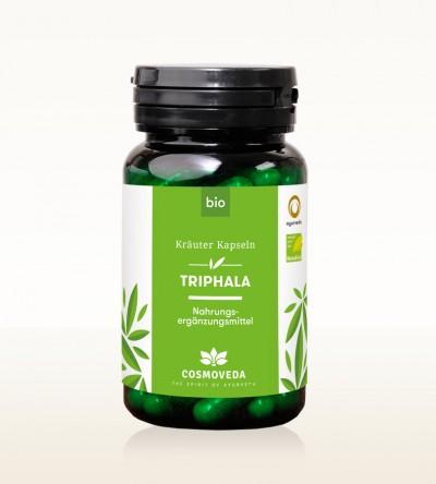 Organic Triphala Capsules 80 pieces