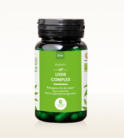 Organic Capsules - Liver Complex - Rasayana for the liver 80 pcs