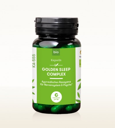 Organic Ayus Rasayana Capsules - Golden Sleep Complex 80 pieces