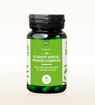 Organic Ayus Rasayana Capsules - Student Mental Power Complex 80 pieces