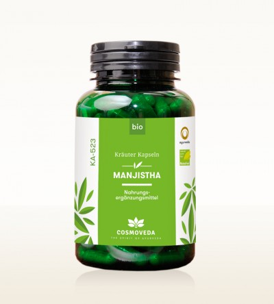 Organic Manjistha Capsules 200 pieces
