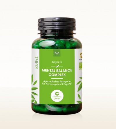 Organic Ayus Rasayana Capsules - Mental Balance Complex 200 pieces